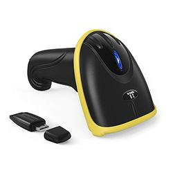 TaoTronics 2-in-1 2.4Ghz Wireless & Wired Barcode Scanner US