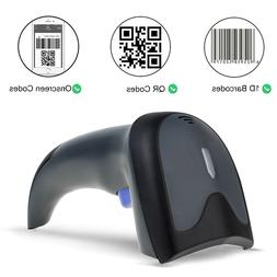 Bluetooth 2D Barcode Scanner 2in1 Wired & Wireless 1D 2D QR
