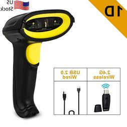 2.4G Wireless Or Wired Handheld Wifi Laser Barcode POS Scann
