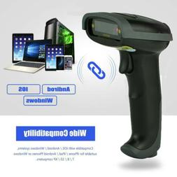 2.4Ghz Wireless Bluetooth Laser USB Cable Barcode Scanner Re