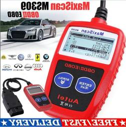 2019 US Scanner Diagnostic Code Reader New MS309 OBD2 OBDII