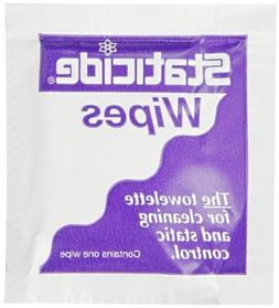 ACL Staticide 2450 Anti-Static Wipe, Individually Wrapped, 8