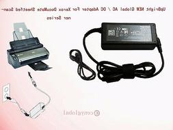 24V AC Adapter For XEROX DocuMate Flatbed Scanner Power Supp