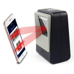 2D Barcode Scanner,Symcode Omnidirectional Hands-Free USB Ba
