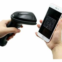 2d wireless bluetooth barcode scanner with usb