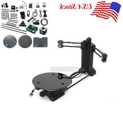 3D Open Source DIY 3D Scanner Kit Advanced Laser Scanner wit