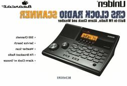 Uniden 500-Channel Police Scanner BC365CRS Alarm Clock Radio