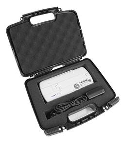SAFE n SECURE Hard Travel Carrying Case with Dense Foam for