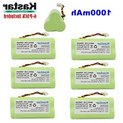 Kastar 6-PACK AAA 3.6V 1000mAh Ni-MH Rechargeable Battery Re