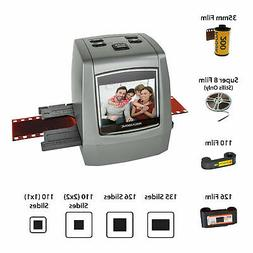 Magnasonic All-In-One 22MP Film Scanner, Converts Film, Slid
