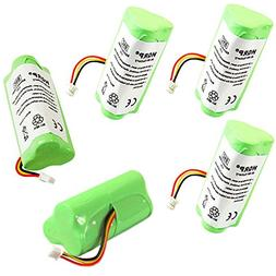 HQRP 5-Pack Battery for Motorola Symbol LS4278 LS-4278 LS427