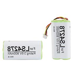 2-Pack Battery for Motorola Symbol LS4278 LS4278-M LI4278 DS