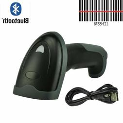 Bluetooth Wireless Barcode Scanner Handheld Laser UPC POS fo