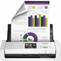 Brother Wireless Compact Desktop Scanner ADS-1700W Fast Scan