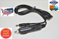 Car Adapter Power Cord  For Uniden Radio Shack Scanner PS001