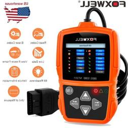 Foxwell NT201 Car EOBD OBD2 Scanner Code Reader Engine Teste