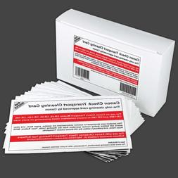 Cleaning Cards for Canon CR-Series Check Scanners