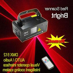 SUNY DMX Red Ray Beam Scanner Laser Stage Light DJ Party Sho