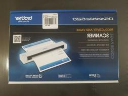 BROTHER DSmobile620 SCANNER, Color Page, 8-PPM, ID CARD, New