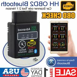 ELM327 HH OBD2 Bluetooth Car  Scanner Android Torque Auto Di