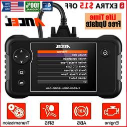 Check Engine Transmission ABS SRS Airbag Code Reader OBD2 Sc