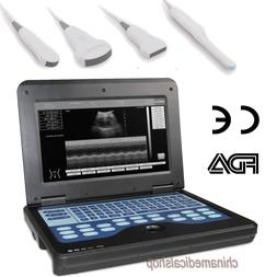 Full Digital Ultrasound Scanner Portable Laptop Machine four