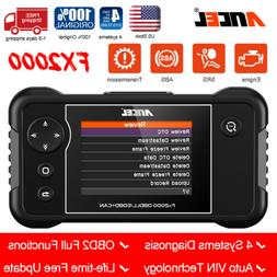 Ancel FX2000 Car ABS airbag Engine Transmission Scanner OBDI