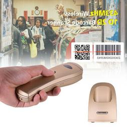 Handheld 433MHz Wireless 1D 2D Image Barcode Scanner with US