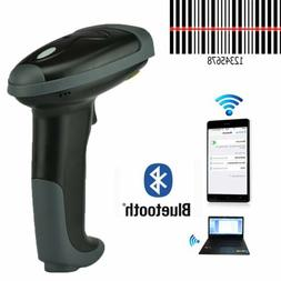 Handheld Wireless Bluetooth WiFi Barcode Scanner Reader For