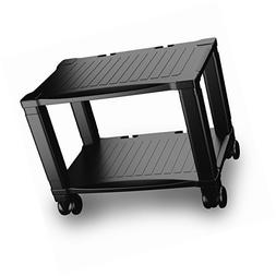 Home-Complete Printer Stand-2-Tier Under Desk Table for Fax,
