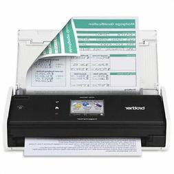Brother International ADS-1500W Compact Clor Scanner Perp Up