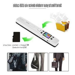 iSCAN Handheld Digital Wand Portable 1050DPI Scanner for A4