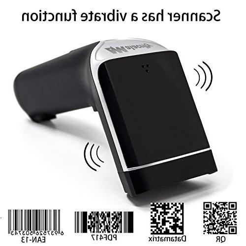 Alacrity 2-in-1 & USB 2D Scanner,Handheld QR CCD Data Reader for Computer