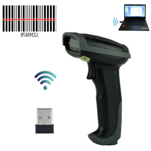 2 4ghz automatic wireless laser barcode scanner
