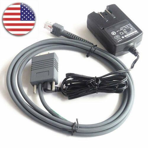 6ft rs232 serial cable and ac power