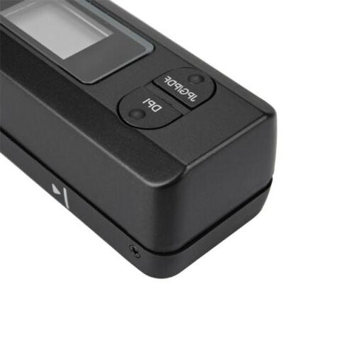 900 Dpi Handheld Portable Handy scanner Document Photo A4 Sc