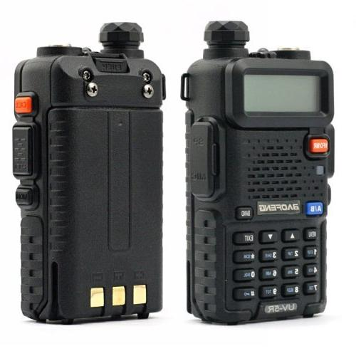 Baofeng UV-6R Two-Way Radio Transceiver 136-174/400-520MHz High Power 5W/1W,