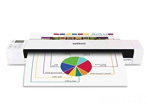 Brother Mobile Scanner, DS-820W, Wi-Fi Fast Compact Lightweight