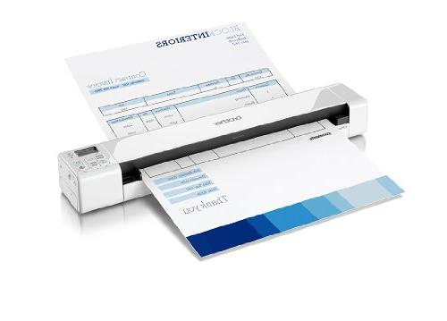 Brother Mobile Color Page Scanner, DS-820W, Wi-Fi Transfer,