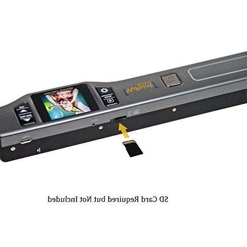 Document/Image Scanner 8x VuPoint Magic Wand Color Handheld - Fast, Slim