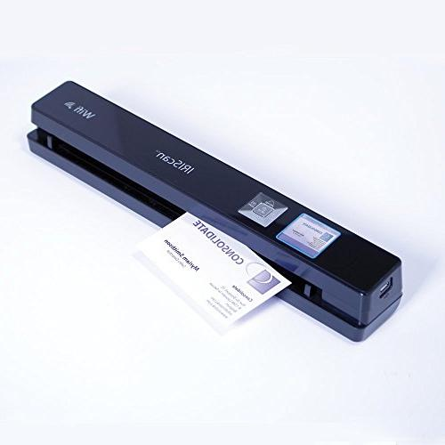 IRIScan Portable dpi Color Scanner with