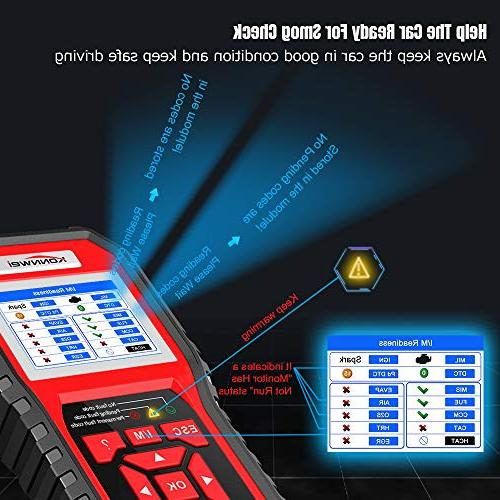 KONNWEI Check Engine Light Scan Tool for OBD II Cars After 1996