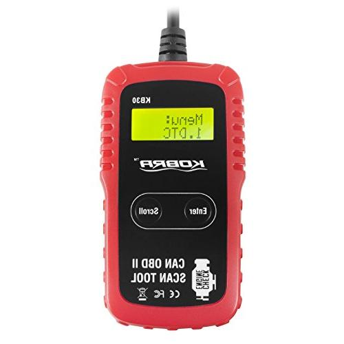 OBD2 Diagnostic and Car Code Reader, One Check Light Reset, Fix Problems Clear All Cars Trucks!