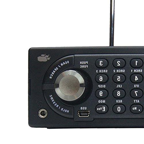 Uniden BCD996P2 Digital Mobile TrunkTracker Dynamically Allocated Close Call 4-Line Design, 2, Scanning