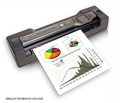 VuPoint Solutions Dock Docking for Magic Wand Portable Scanner - with