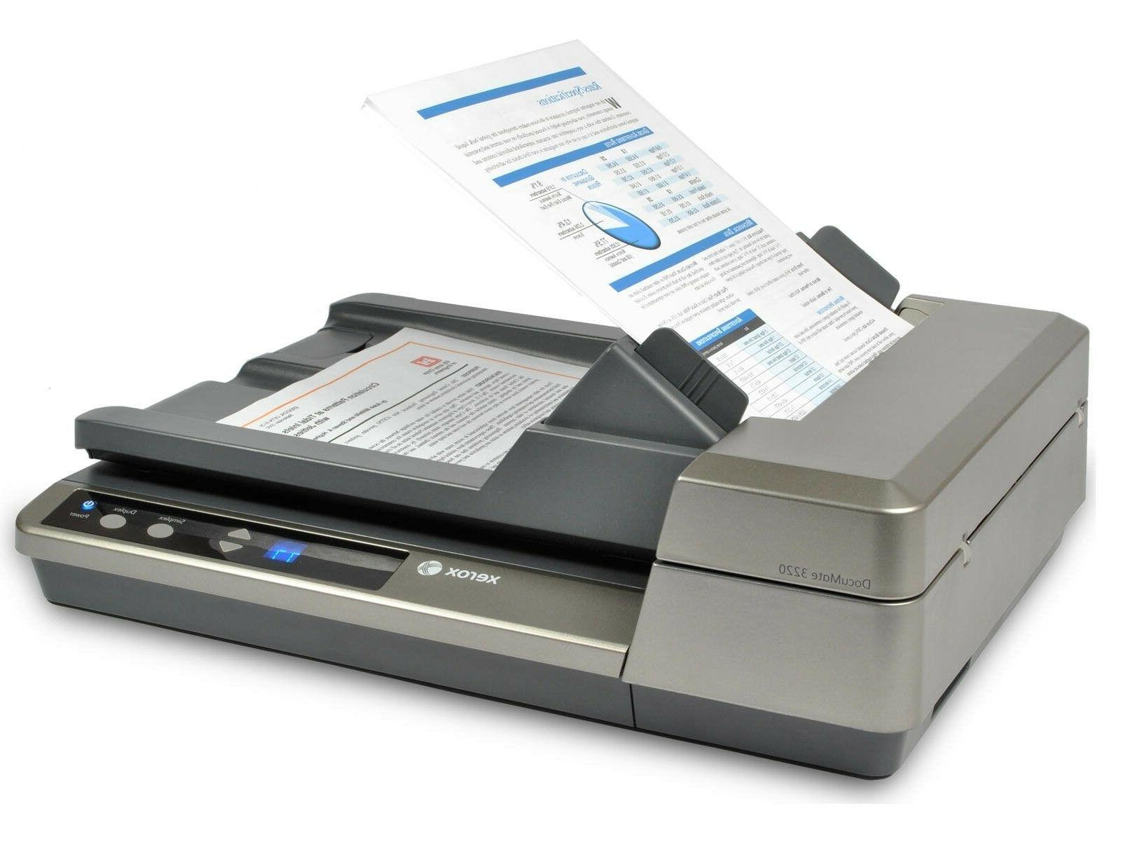 Xerox Color Sheetfed and Scanner