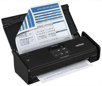 Brother ADS1000W Compact Color Desktop Scanner with and
