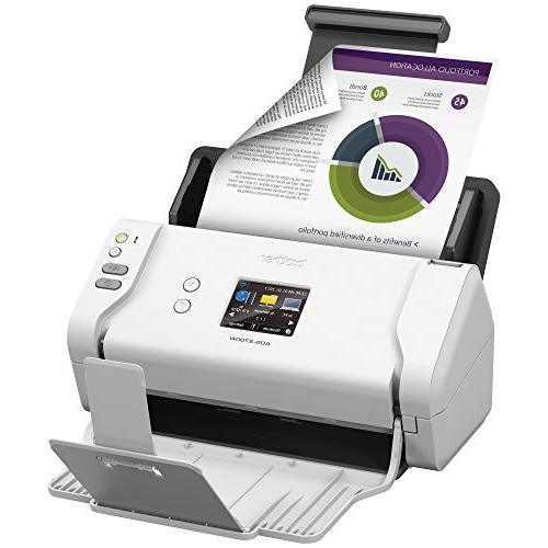 Brother Document Scanner, LCD, Duplex