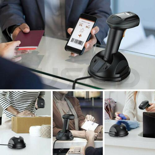 Automatic Wireless/Wired Scanner With Cable