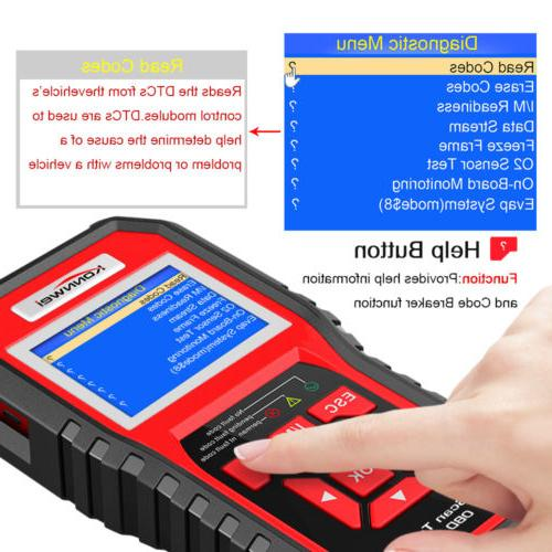 Automotive Reader Scanner Engine Light Check